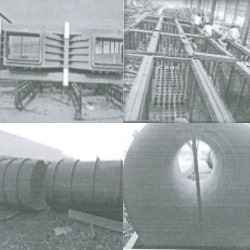 Ducting Support Structure
